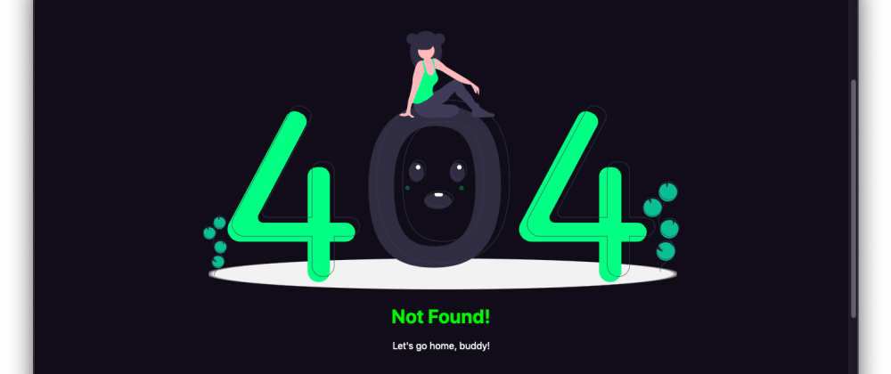 Cover image for Create a custom 404 page for your Vue 2 app