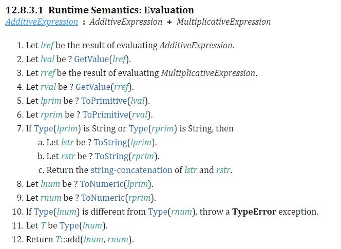 Runtime Semantic