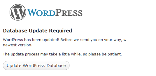 Update your database after downgrading WordPress to any version.