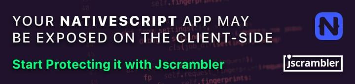 Protect your NativeScript App with Jscrambler