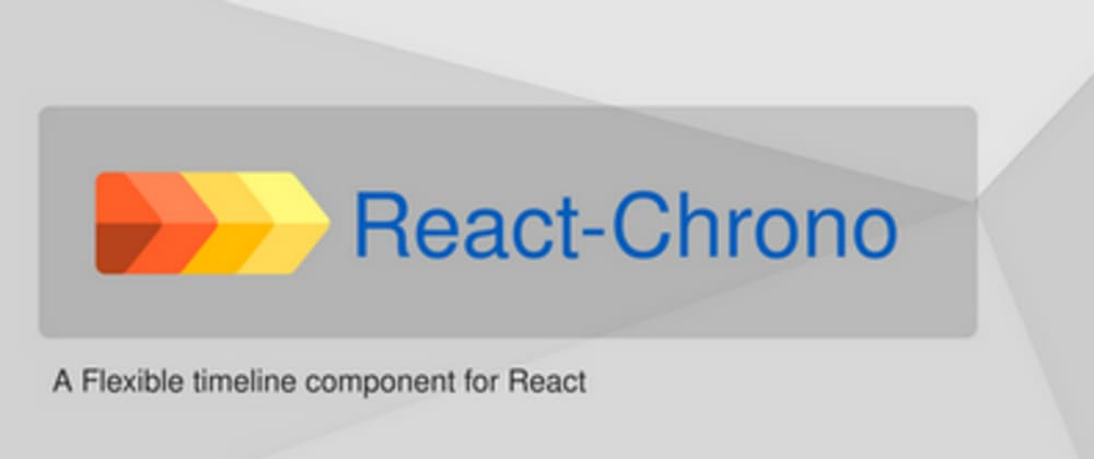 Cover image for React-Chrono 1.3 out with support for images and videos