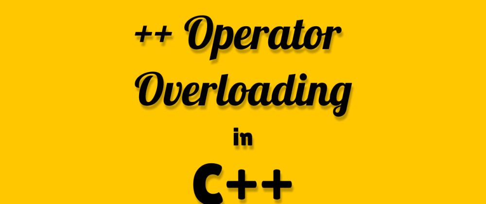 Cover image for ++ Operator Overloading for a Matrix using Friend function in C++