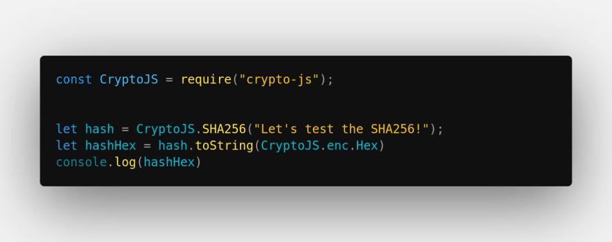Full Code SHA256