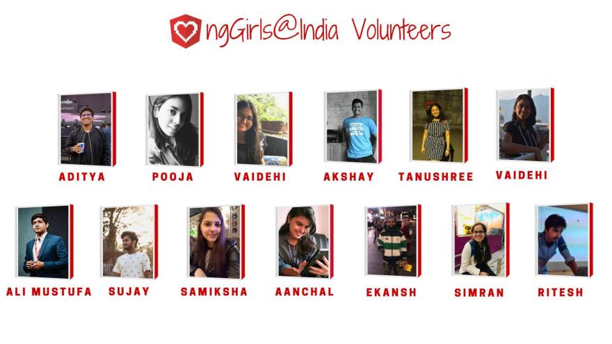 ngGirls@India Volunteers