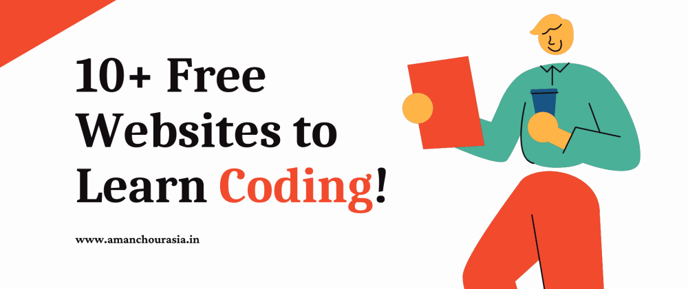 Cover image for 10+ Free Websites to Learn Coding!