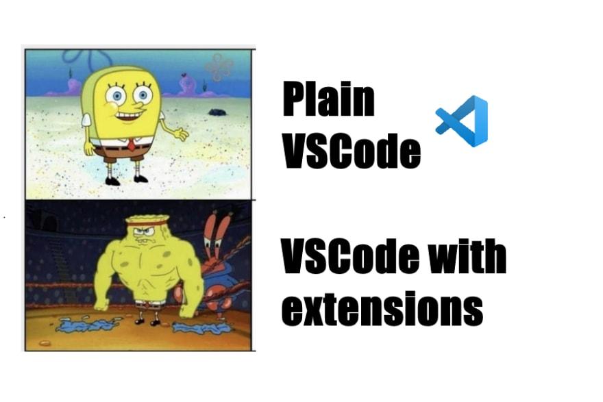 vs code extension meme