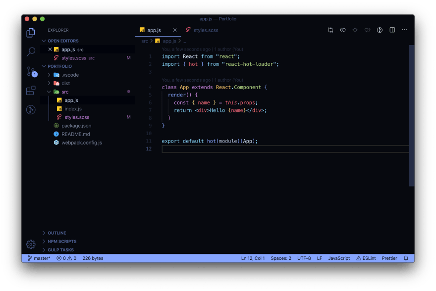 Aurora X VS Code theme
