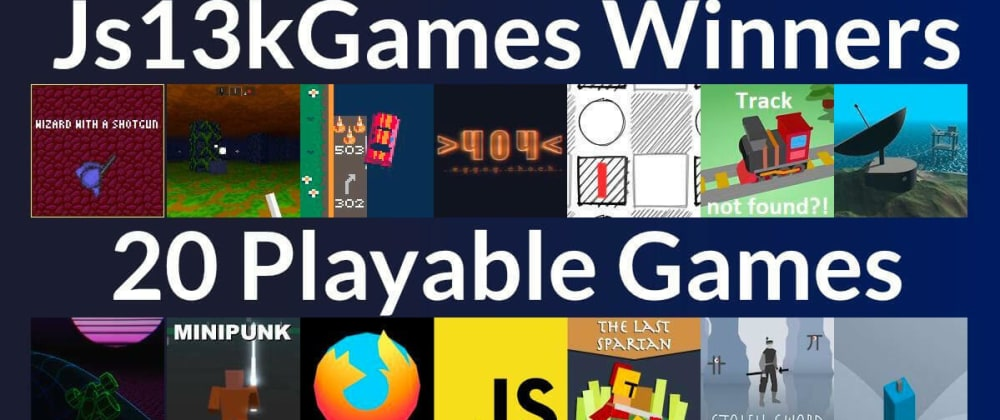 Cover image for Two videos about js13kGames 2020 to watch