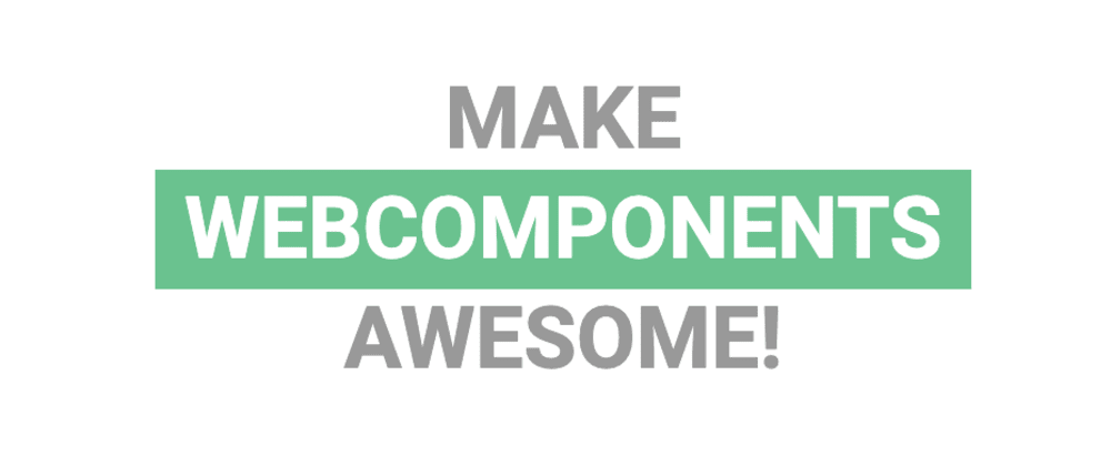 Cover image for Make awesome WebComponents with Svelte