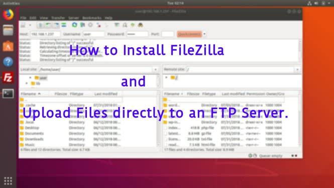 How to Install FileZilla FTP Client on Linux - DEV Community