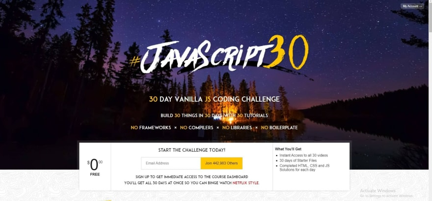 30 days of Js