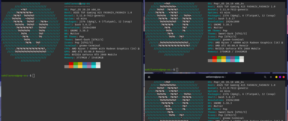 Cover image for Getting the i3wm tiling experience in Gnome Desktop