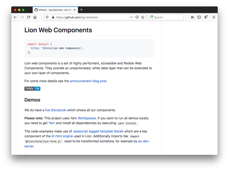 Lion Web Components