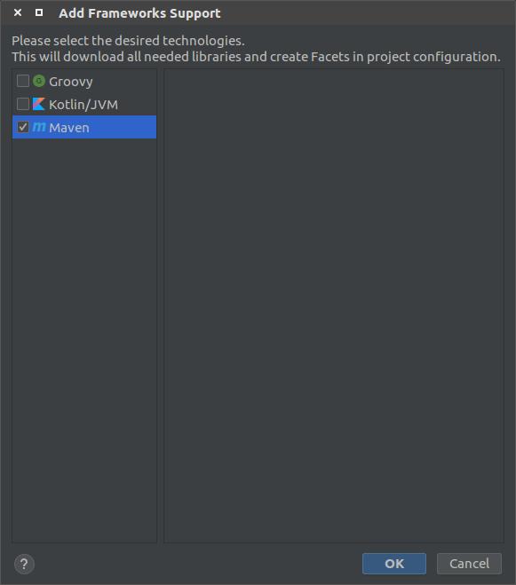 Configure IntelliJ to use Maven