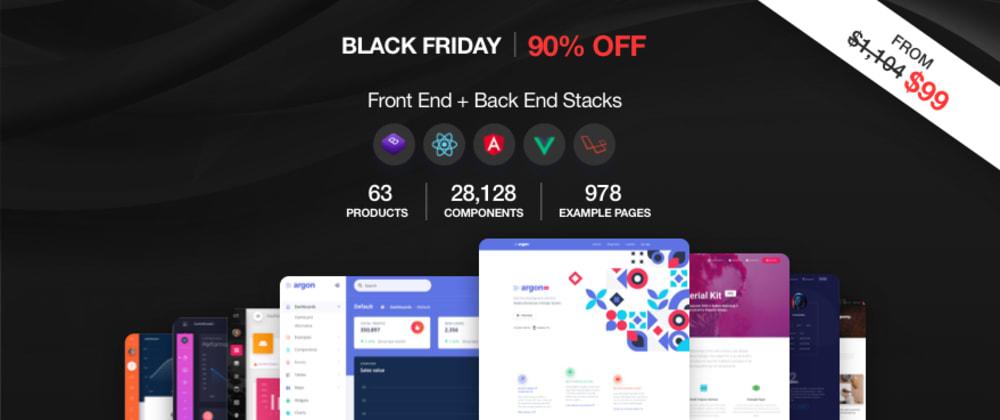 Cover image for 10+ Best Black Friday Deals for Developers and Designer [2020]