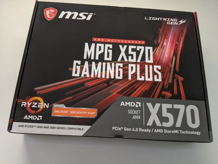 MPG X570 Gaming Plus Motherboard