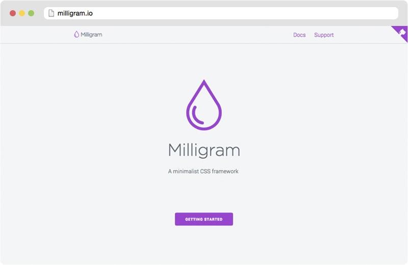 milligram.io