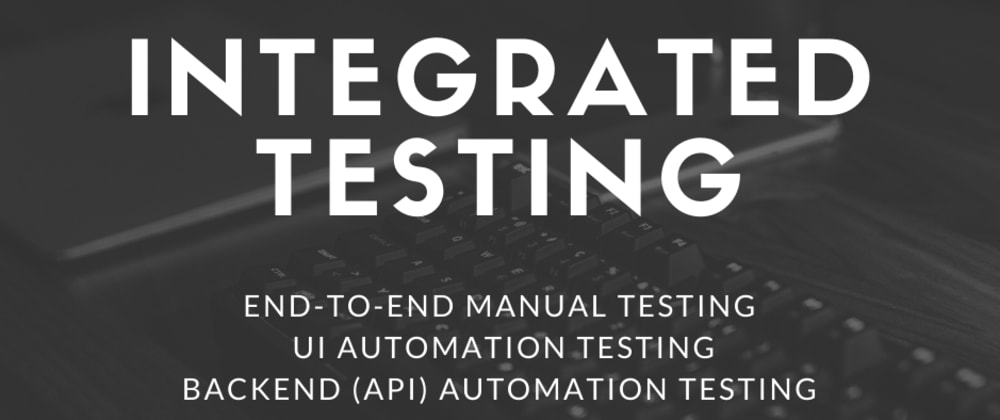 Cover image for Integrate software testing