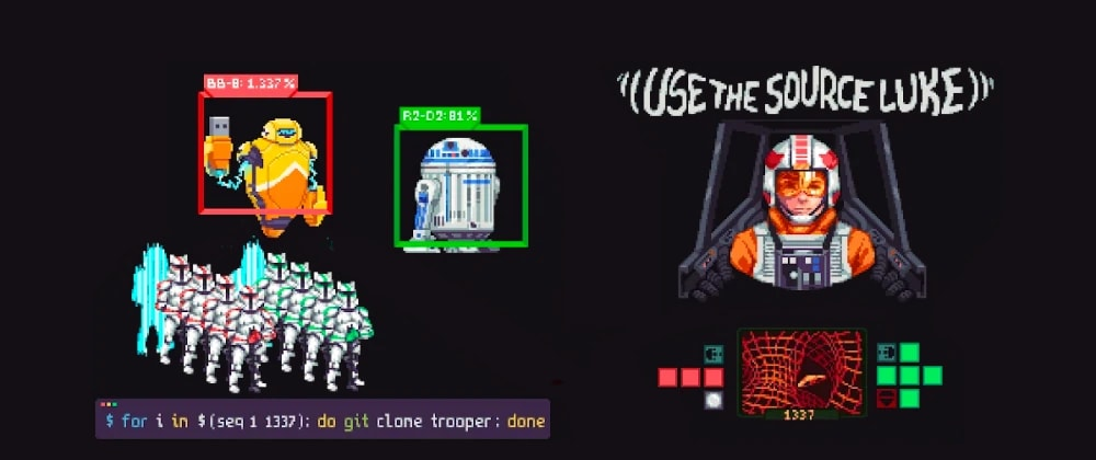 Cover image for 12 open source projects for #StarWarsDay