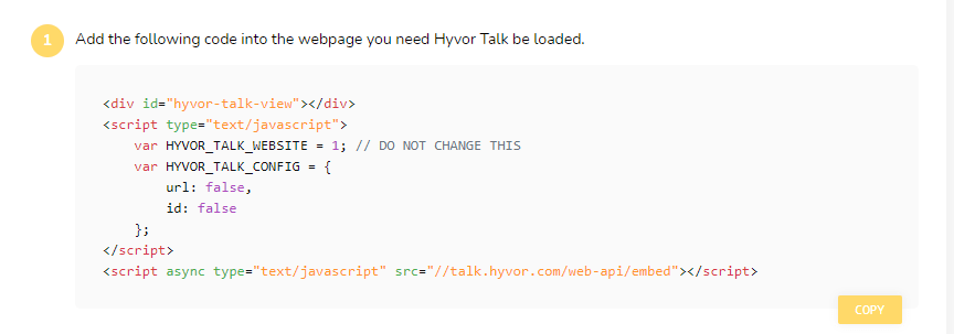 Hyvor Talk for Hexo - Installation Code