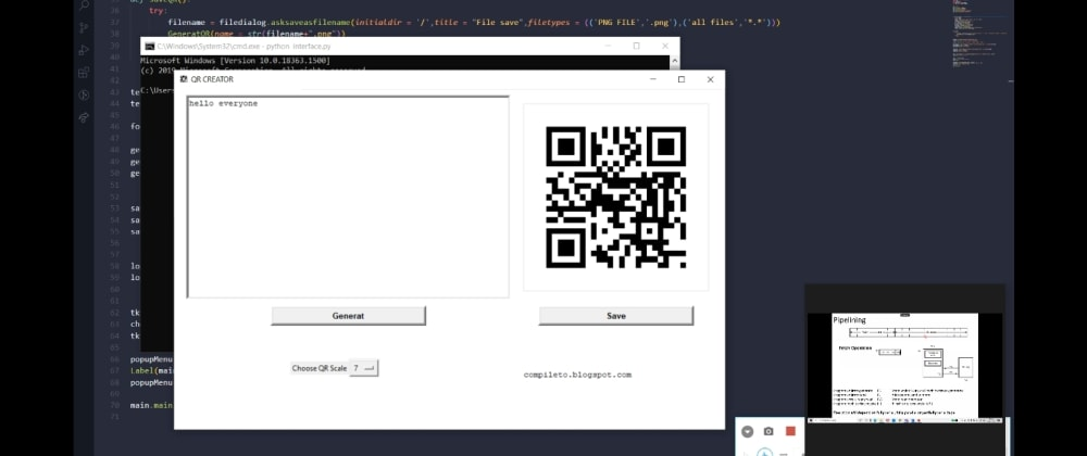 Cover image for How to Make Qrcode Generator using Python.