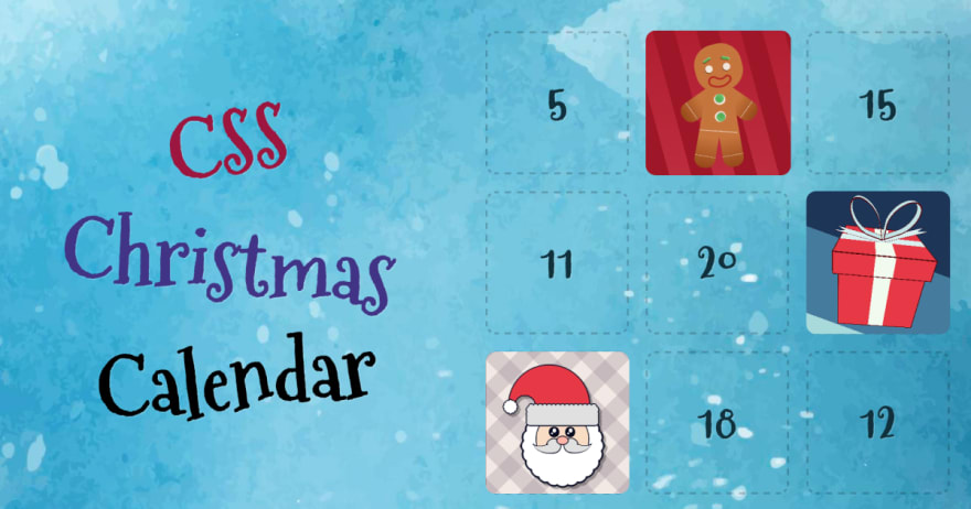CSS Christmas Calendar