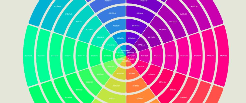 Cover image for #1.  Building Color Wheel 🎯 visualisation  (visx cookbook 📚)