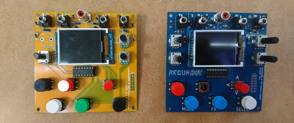 Cover image for Introducing recurBoy, a raspberry pi video instrument