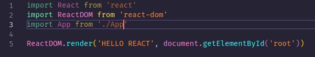 importing App.jsx