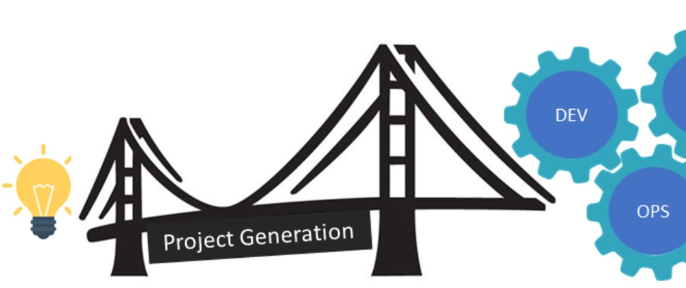 Cover image for We Built a Project Generator Because  DevOps Needs One