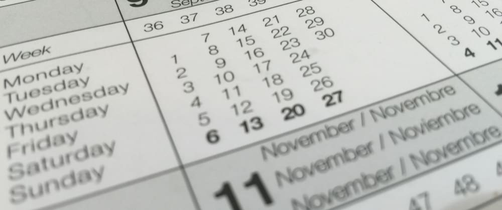 Cover image for Formatting dates with JavaScript