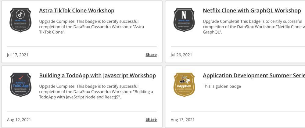 Datastax AppDev Summer Learning Series