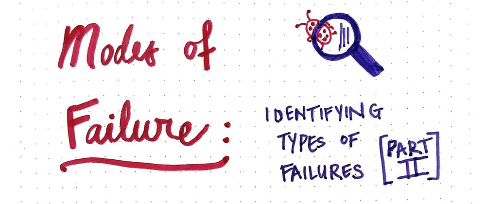 Cover image for Modes of Failure (Part 2)