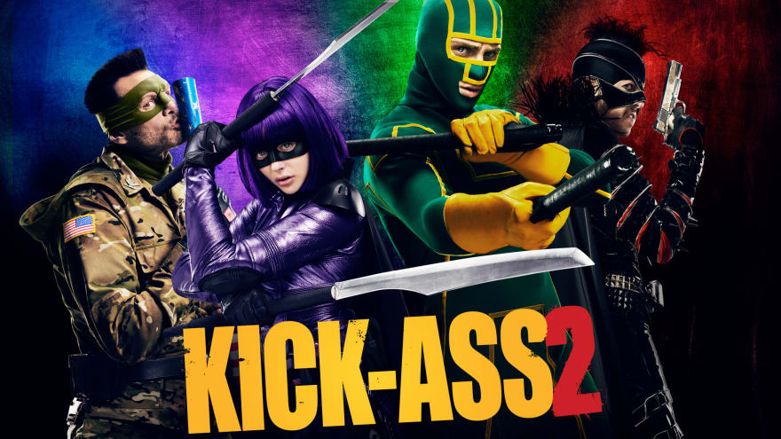 Move poster of main characters from Kick Ass 2