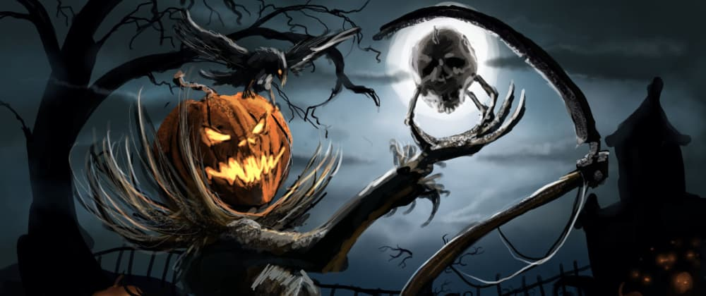 Cover image for 👻 Do you have any horror stories to share? Spooky bugs, scary data leaks, horrifying code, etc. 🎃