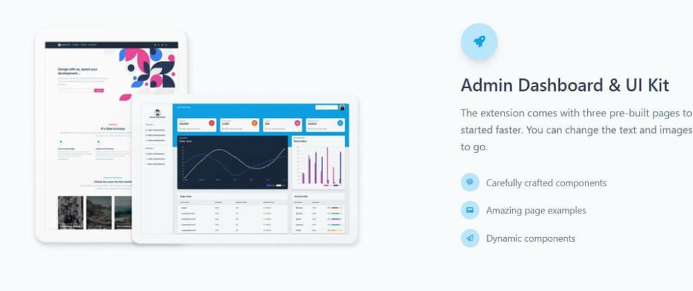 Cover image for React Tailwind - Free Dashboards