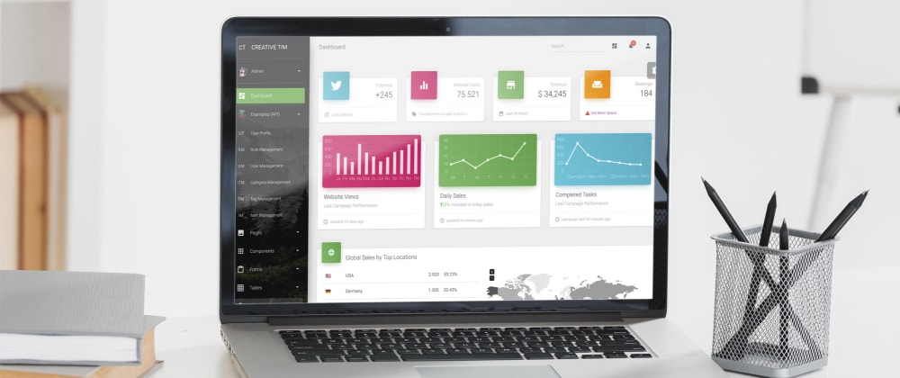 Cover image for Introducing the power of API & microservices: Vue Material Dashboard Laravel PRO