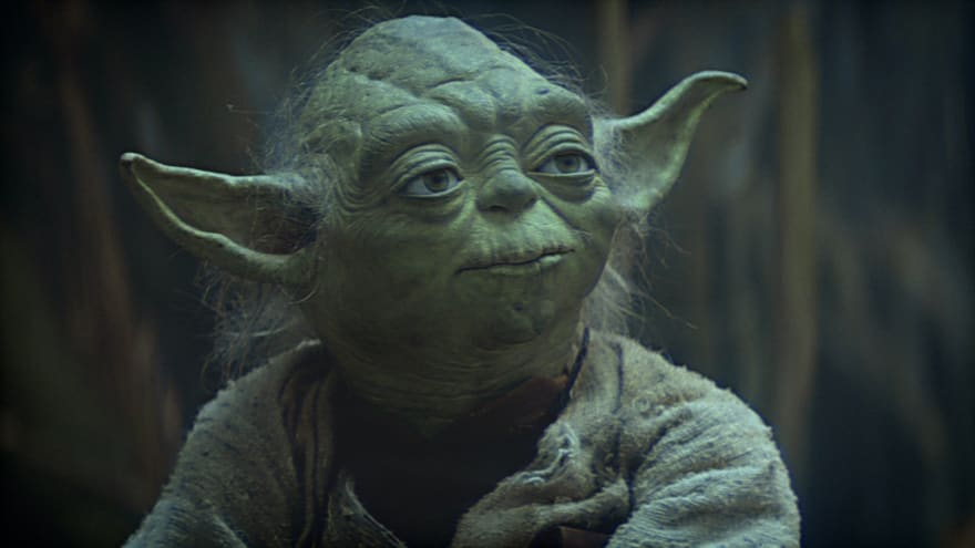 Master Yoda from Star Wars film series