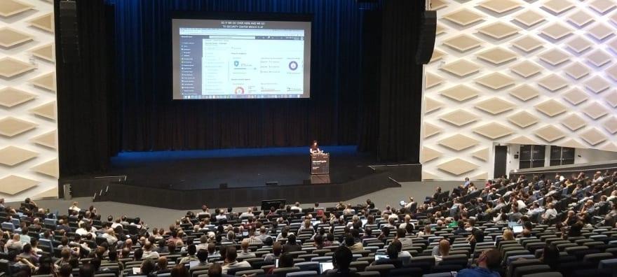 Sydney, Australia, at #MSIginiteTheTour — I'm the tiny dot at the front