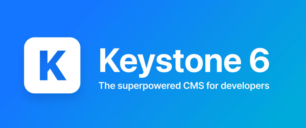 Cover image for a first look at keystoneJS