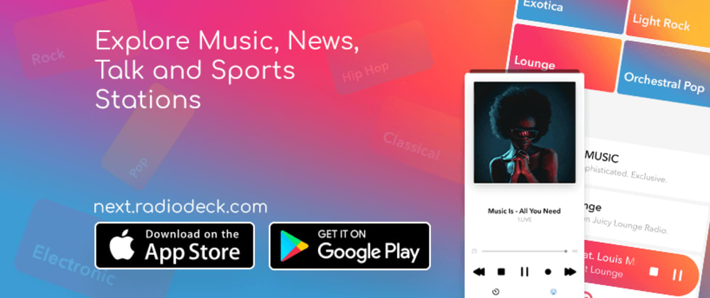 Cover image for Radiodeck - The Radio App