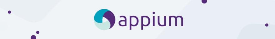 Appium automation testing logo