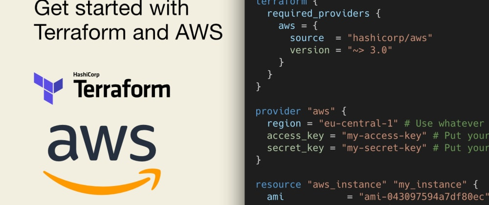 Cover image for Get started with Terraform and AWS