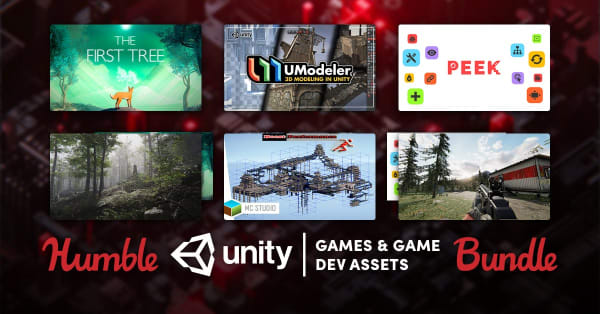 Humble Unity Games and Game Dev Assets Bundle