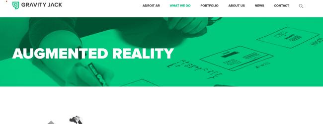 GravityJack-Leading AR & VR Mobile App Development Company