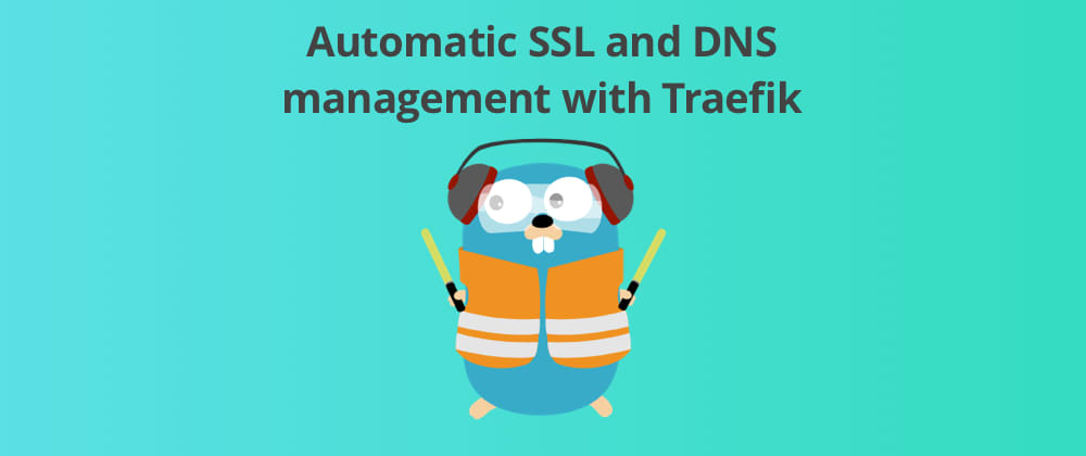 Cover image for Automatic DNS and SSL management with Traefik