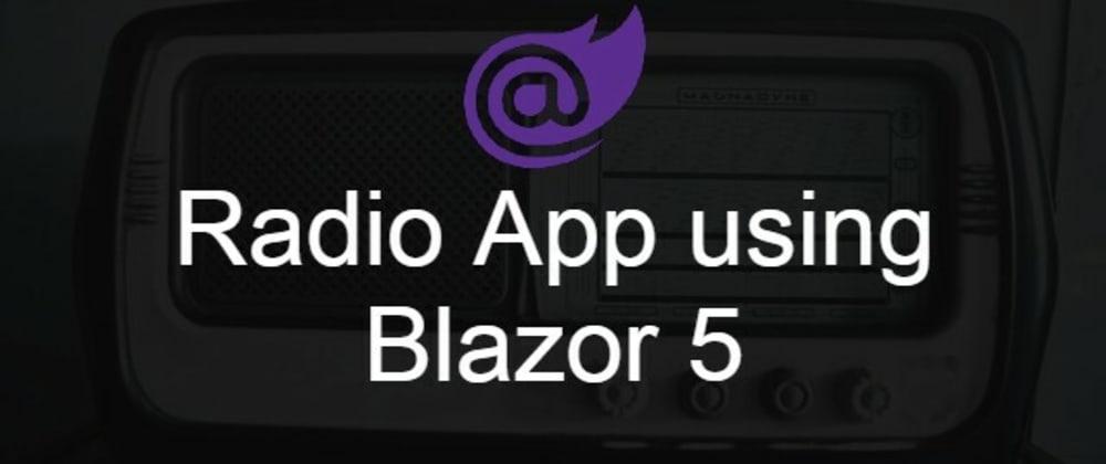 Cover image for Radio Player using Blazor 5