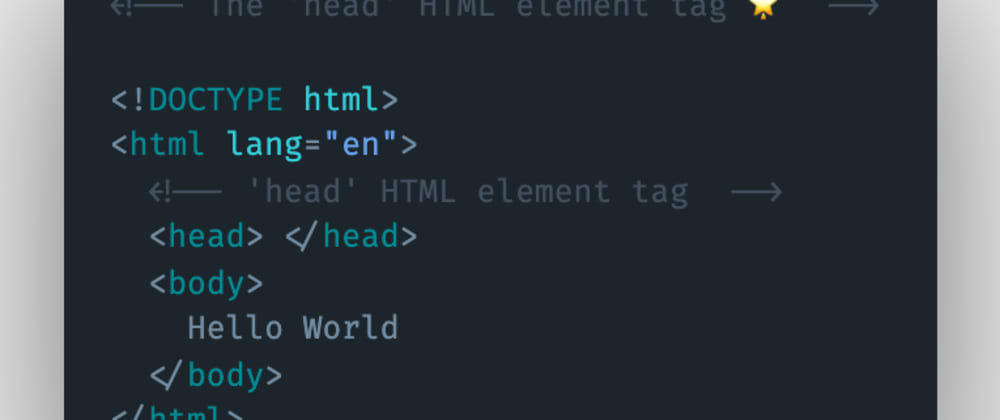 Cover image for Which HTML element tag can be used to store information about a website or its metadata?