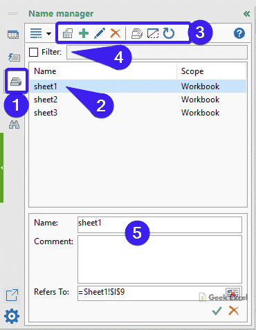 Name Manager Tab