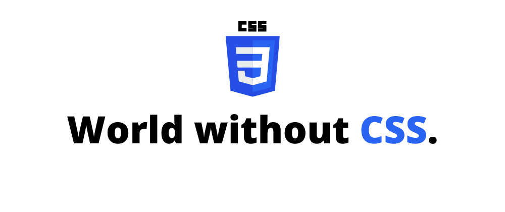 Cover image for The Web without CSS. 😿